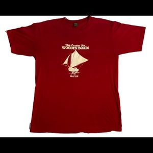 Vtg the wooden boat center Seattle t shirt large